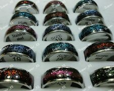 wholesale lots jewelry nice Stainless steel Enamel Fashion Rings Free shipping