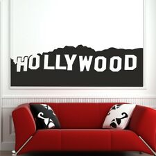 HOLLYWOOD SIGN wall sticker famous decal mural quote stickers deco art vinyl