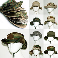 Woman Man's Camouflage Army Military Cargo Boonie Bucket Jungle Hunting Caps Hat