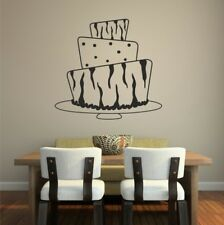 CAFE Wall Stickers food tea coffee cakes restaurant sticker tracnsfers art vinyl