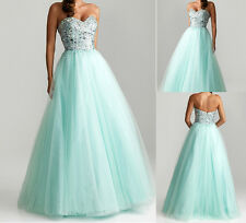 New Sweetheart Tulle Wedding Bridal Bridesmaid Gown/Prom Ball Evening dress