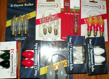 New C7 Replacement Bulbs Christmas Lights Candle Candelabra Lamp Light Base Lite