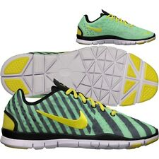 New Womens Nike Free TR FIT 3 PRT Green/Yellow/Black 555159-302