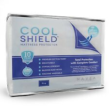 Cool Shield Mattress Protector - Waterproof, Breathable & Hypoallergenic