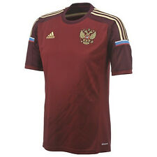 adidas Russia World Cup WC 2014 Home Soccer Jersey Brand New Maroon