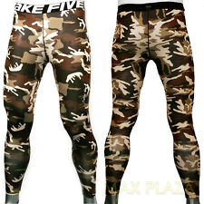 Mens Womens Compression Sports skin leggings tights Base Under Layer Long Pants