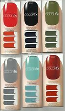 Dashing Diva Color FX Stick-On Nail Polish Strips for Finger & Toes 34 Appliques