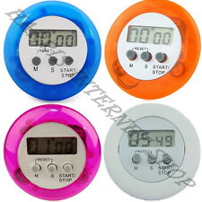 Mini LCD Digital Timer for Cooking Kitchen Countdown Alarm Clock and Stop Watch