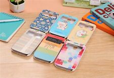 Flip Stand S-View Window Leather Smart Cover Case Samsung Galaxy S IV S4 I9500