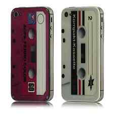 VINTAGE RETRO CASSETTE DESIGN REAR HOUSING FOR IPHONE 4S + TOOL & INSTRUCTIONS