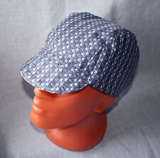 Cap for Welders and Pipefitters, Welding Cap Hat Cap for Work - Gray-Blue Print