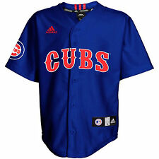 Chicago Cubs Youth Kids Printed Baseball Jersey MLB Adidas Official Licensed