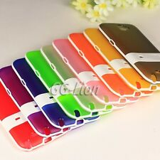 Gel Silicone TPU Stand Cover Skin Case For Samsung Galaxy Note II, Note 2, i605