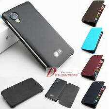 Hot Luxury Flip Leather Case Cover For LG D820 Google Nexus 5 +Screen Protector