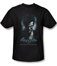 BATMAN ARKHAM ORIGINS JOKER MENS LICENSED VIDEO GAME T-SHIRT NEW bao106