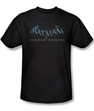 BATMAN ARKHAM ORIGINS LOGO MENS LICENSED XBOX PS3 VIDEO GAME T-SHIRT NEW bao103
