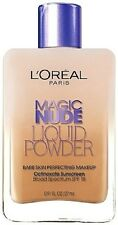 Loreal MAGIC NUDE LIQUID POWDER Perfecting bare skin Foundation YOU CHOOSE fresh
