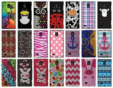 For LG Spectrum 2 VS930 Snap On Protector Rubberized Hard Cover Phone Case