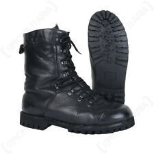 Genuine German Army COMBAT BOOTS - All Sizes Issued Black Military Surplus Shoe