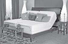 Leggett Platt Prodigy dual CAL King adjustable bed & Talalay mattress. 8, 9, 10""