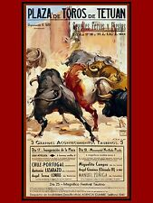 3491.Plaza de Toros de Tetuan.Spanish POSTER.Matador Bullfighter Spain art decor