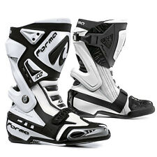 Forma Italy Ice Motorcycle Roadracing Boot White