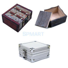 Tattoo Machine Travel Box Rotary Gun Grip wooden/Aluminium Carry Case kit Supply