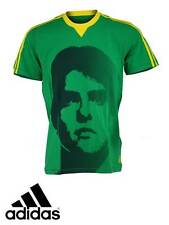 NEW ADIDAS KAKA T SHIRT BRAZIL WORLD CUP 2014 AC MILAN FOOTBALL SHIRT S M L XL