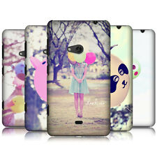 HEAD CASE DESIGNS BALLOON HAPPINESS SNAP-ON BACK CASE COVER FOR NOKIA LUMIA 625