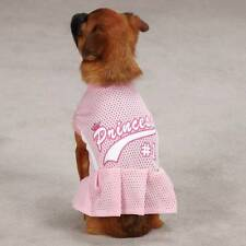 Casual Canine Top Dog Royalty breathable mesh Pet Jersey Princess Pink #1