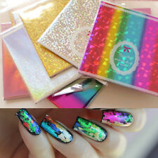 Fantasy Starry Holo Nail Foils Glitter Transfer Stickers Nail Decoration 30x10cm