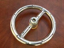 """6""""  Stainless Steel Fire Pit Ring,"""