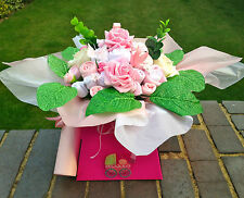 CUSTOM MADE BABY GIFT - BABY CLOTHES BOUQUET - BABY SHOWER - NAPPY CAKES - GIFT