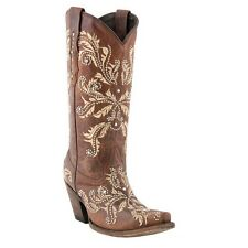 Lucchese Ladies Since 1883 Redwood Aspen Calf M5716 New