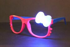 *MANY STYLES* HELLO KITTY GLASSES W/ GLOW/ LIGHT UP BOW THAT ROTATES COLOR