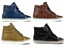 NEW WOMENS TRAINERS SHOES GIRLS LADIES FLAT CANVAS PUMPS LACE UP CASUAL SIZE 3-8