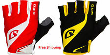 100% Authentic Genuine Giro Bravo Cycling Road bike gloves half finger