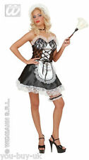 Ladies Sexy French Maid Valentines Rocky Horror Hen Naughty Fancy Dress Costume