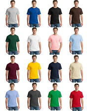 Wholesale Hot new solid color round collar short sleeve T-shirt blank t-shirts