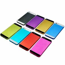 Colorful New Hard Metal Back Battery Housing Cover Case For iphone 5 5G