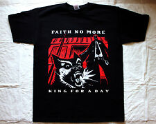 FAITH NO MORE KING FOR A DAY'95 MIKE PATTON MR.BUNGLE FANTOMAS NEW BLACK T-SHIRT