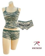 Women's Underwear US ARMY Booty Camp ACU Digital Camo Panties or Tank Top New