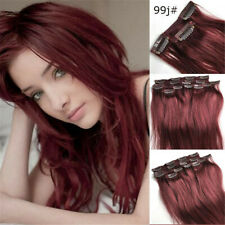 9pcs 100g Set Clip in on Real Remy Human Hair Extension 3 Lengths and 8 Colors!!