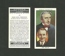 Type Cards: Ogdens ACTORS:  NATURAL & CHARACTER STUDIES 1938 EX (1-25)