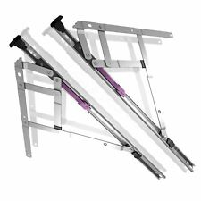 Fire Egress Escape Easy Easi Clean Window Hinges UPVC Side Hung Friction Stays