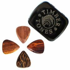 Timber Tones Acoustic & Electric Guitar Plectrum / Pick Gift Tin