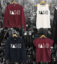 WASTED LOGO VEST, T SHIRT, SWEAT TOP or HOODIE - feline meow high hype youth