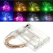 2M 4.5V 1.2W 20 LEDs Battery Operated Mini LED Copper Wire String Fairy Lights