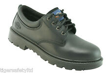Pro Man PM4004 S3 Black Leather Steel Toe Cap Safety Shoes Work Shoes Footwear