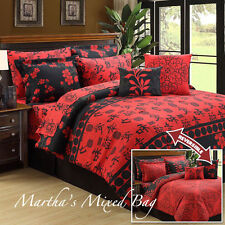 Red Blossom Bedding Ebay